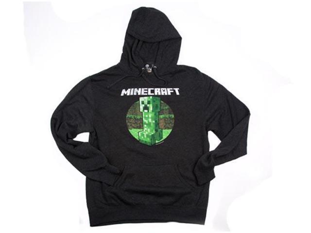 Minecraft Retro Creeper Premium Adult Hoodie XXX-Large