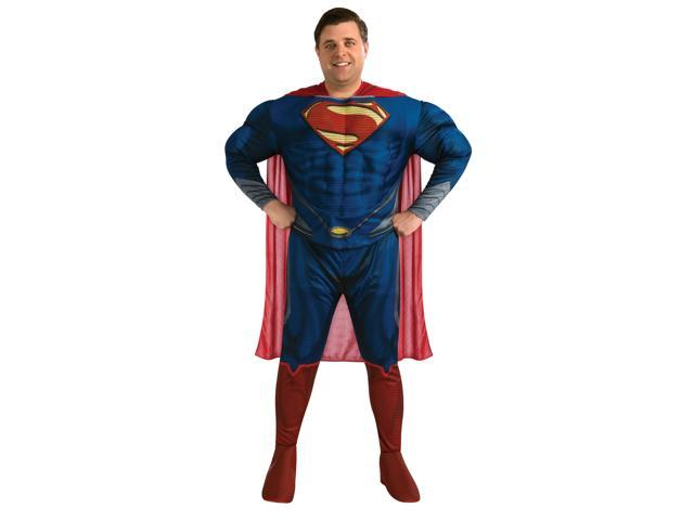 Superman Man Of Steel Deluxe Muscle Chest Costume Adult Plus Plus 46-52