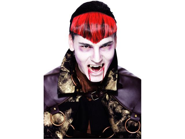 Widow Peak Red Hairpiece Adult Costume Wig One Size