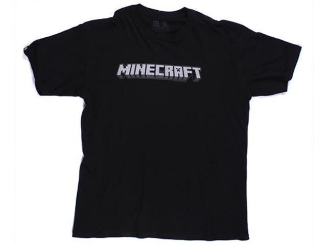 Minecraft Logo Premium Men's T-Shirt XX-Large