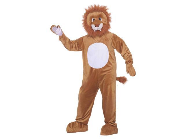 Story Book Lion Plush Adult Costume One Size Fits Most