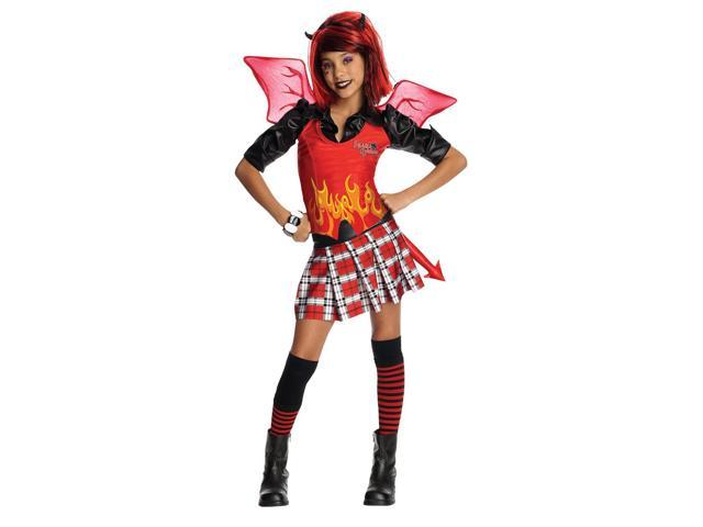 Drama Queen Devilish Costume Child Small 4-6