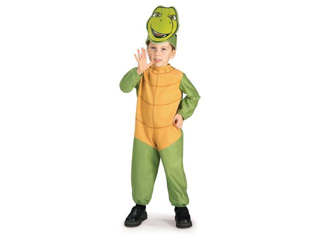 Over The Hedge Verne (Turtle) Flannel Baby Costume 2T-4T