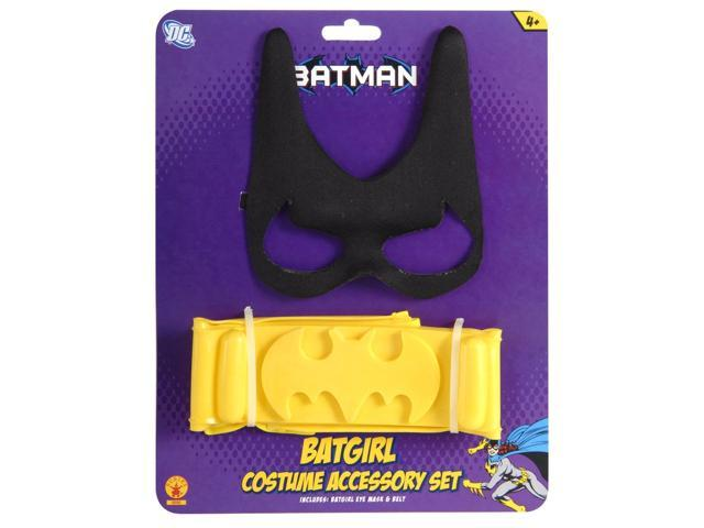 Batgirl Costume Accessory Kit Child One Size