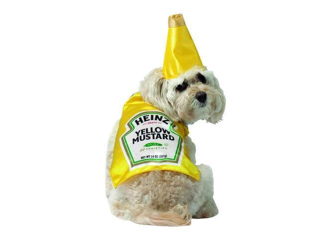 Heinz Mustard Bottle Pet Dog Costume X-Small