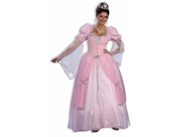 Fairy Tale Princess Pink Dress Costume Adult Standard