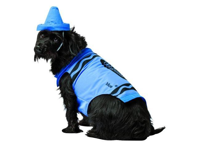 Crayola Sky Blue Pet Dog Costume Large