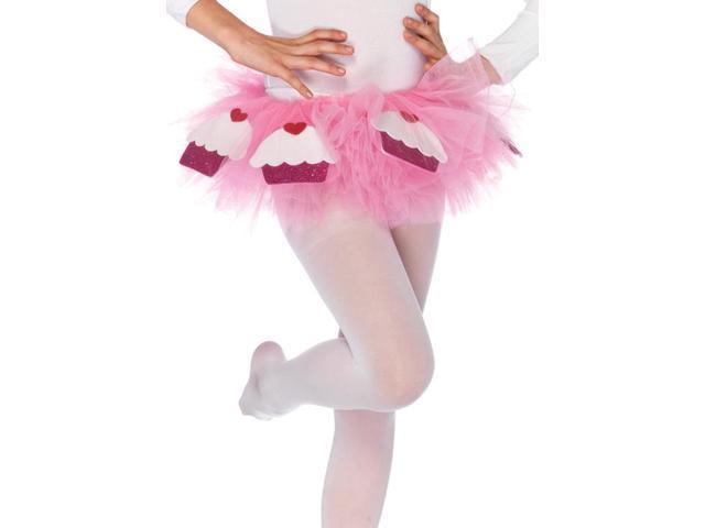 Pink Cupcake Costume Tutu Child One Size