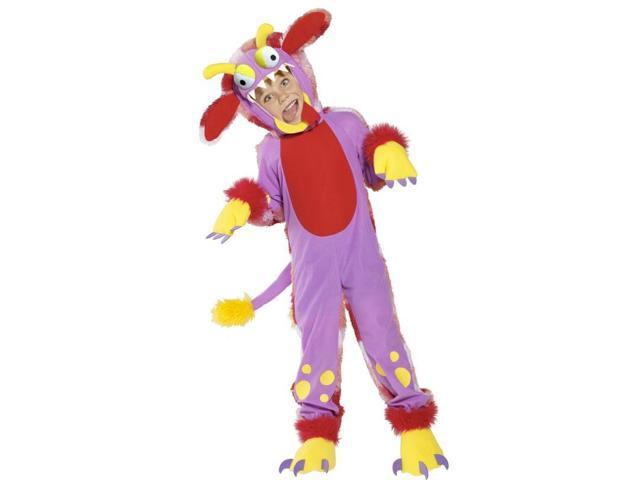 Wacky Grizzle Bodysuit Child Costume With Gloves Small