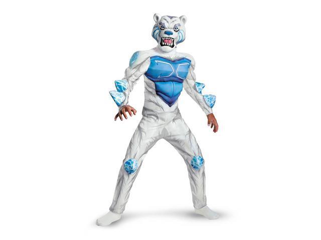 Nickelodeon Monsuno Lock Monster Deluxe Muscle Costume Child Medium 7-8