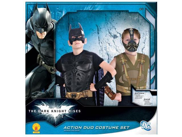 Batman & Bane Action Duo Costume Box Set Child One Size