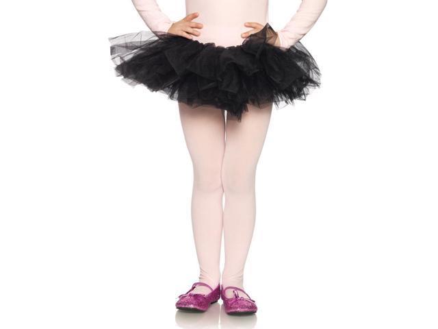 Black Organza Costume Tutu Child One Size