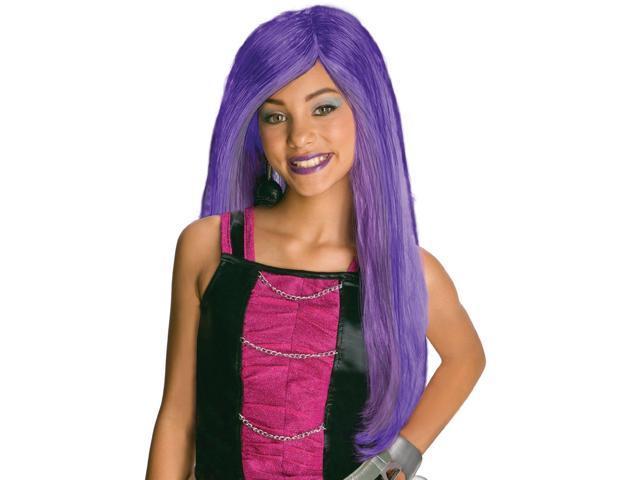 Monster High Spectra Vondergeist Purple Costume Wig Child