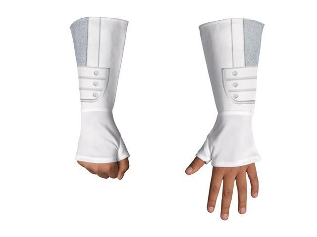 GI Joe Storm Shadow Deluxe Costume Fingerless Gloves Child One Size