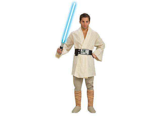 Star Wars Deluxe Luke Skywalker Adult Costume X-Large