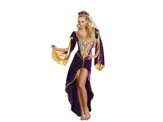 Sexy Renaissance Queen Of Thrones Costume Dress Adult X-Large