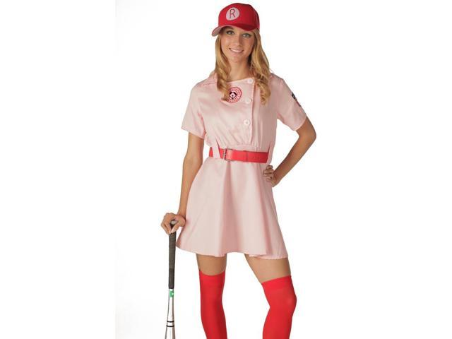 A League Of Their Own Rockford Peaches Deluxe Adult Costume Small/Medium