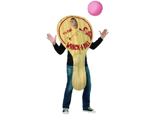Funny Paddle Ball Costume Adult One Size Fits Most