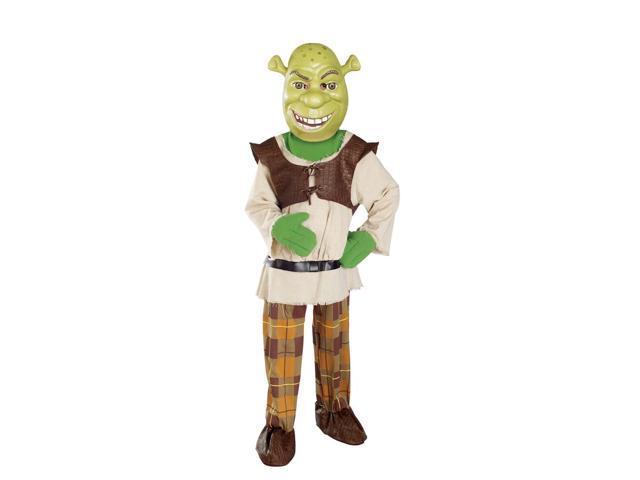 Shrek 4 Shrek Deluxe Child Costume Medium