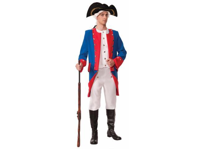 Deluxe Colonial General Adult Costume One Size