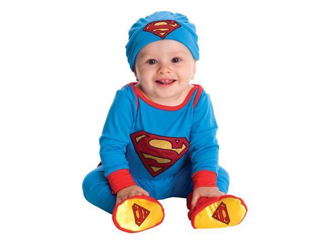Superman Onesie Costume Infant 6-12 Months