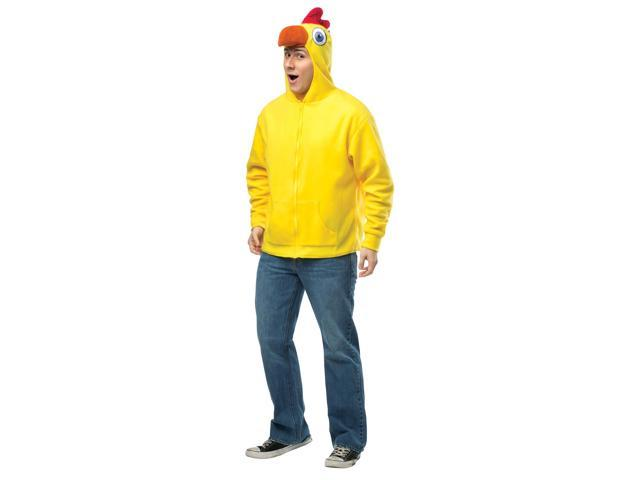 Chicken Hoodie Child Costume 4-6X
