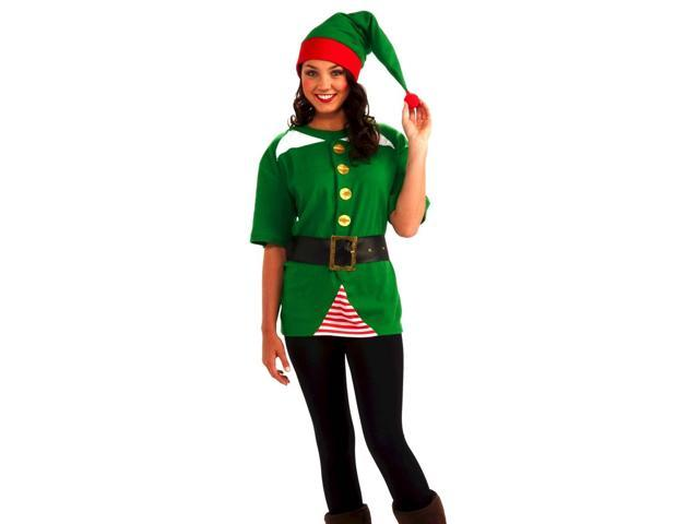 Jolly Christmas Elf Costume Kit One Size Fits Most