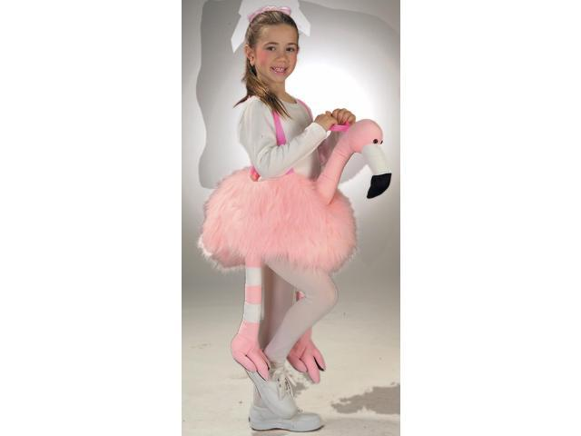 Ride A Flamingo Pink Costume Child Standard