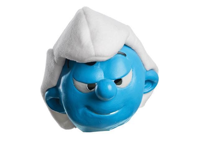 The Smurfs 2 Hefty Smurf Costume Mask Child One Size