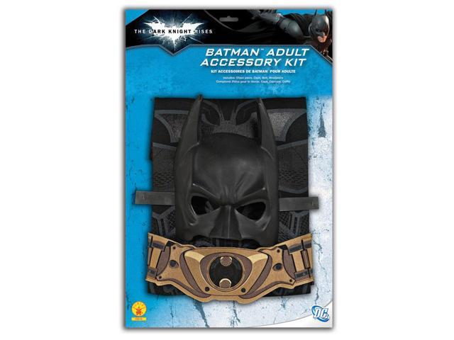 Batman Costume Accessory Blister Kit Adult One Size Fits Most Up To 44