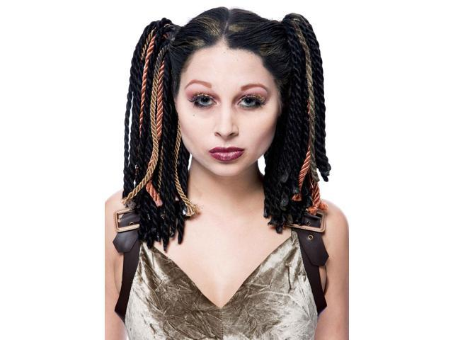 Gothwerks Dread Band Adult Costume Wig One Size