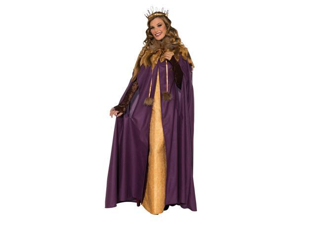 Medieval Maiden Costume Cloak Adult One Size Fits Most