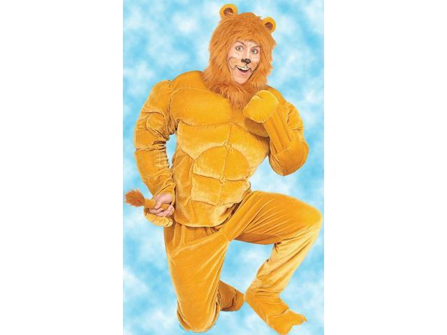 Macho Lion Adult Costume Standard