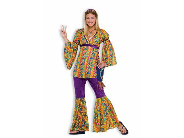 Purple Haze Hippie Adult Costume Standard