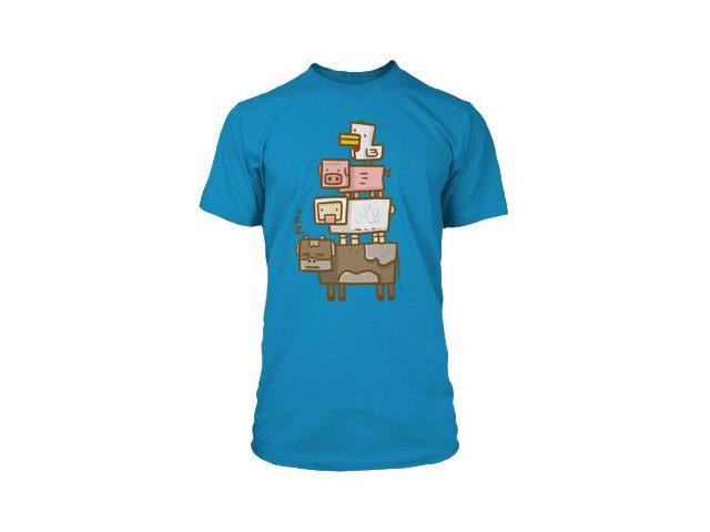 Minecraft Animal Totem Premium T-Shirt Youth X-Large