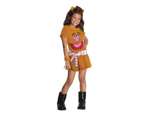 The Muppets Fozzie Dress Costume Child Small 4-6