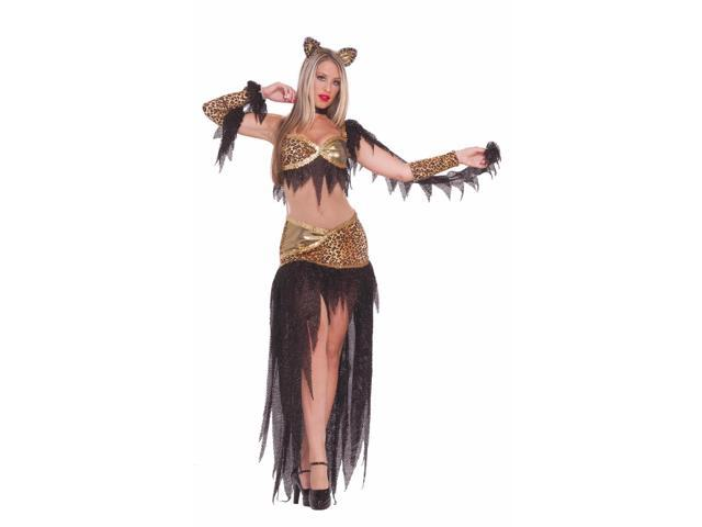 Haunted Ballroom Sexy Cat Feline Fantasy Costume Adult X-Small/Small
