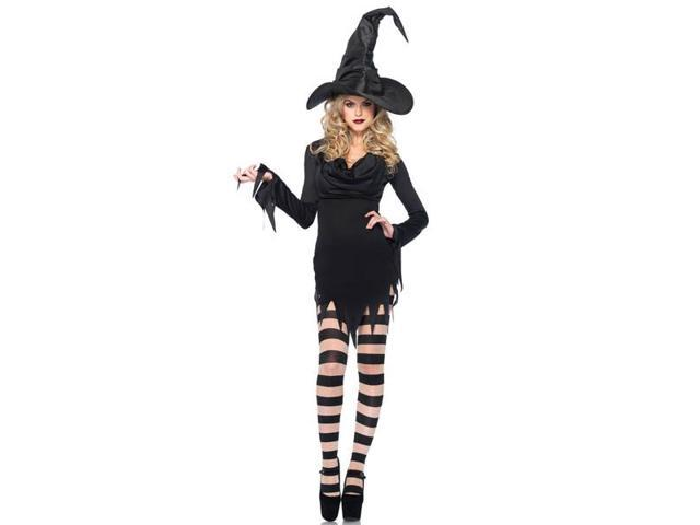 Tattered Witch Dress Adult Costume Medium/Large
