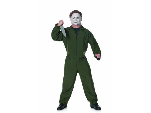 Halloween II Costume Coveralls Adult One Size Fits Most