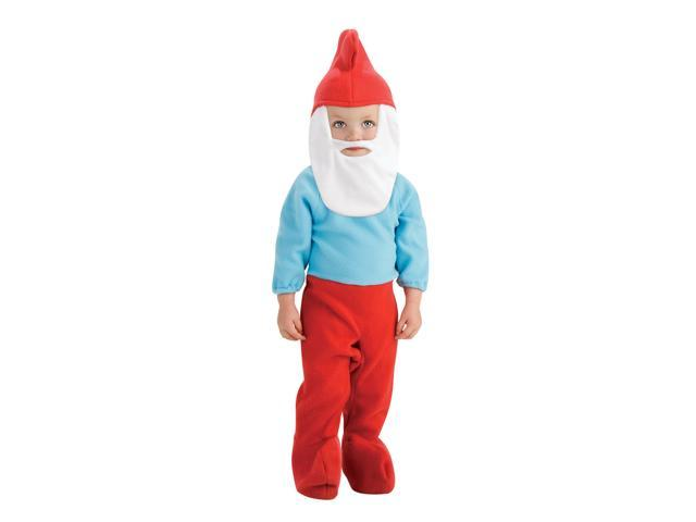 The Smurfs Movie Romper- Papa Smurf Baby Costume 0-6 Months