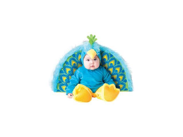 Precious Peacock Infant Toddler Costume Large 18 Months-2T
