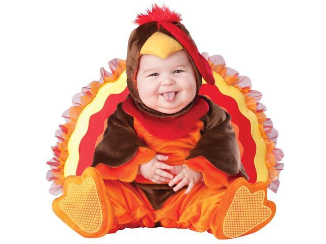 Lil' Gobbler Turkey Costume Infant 12-18 Months