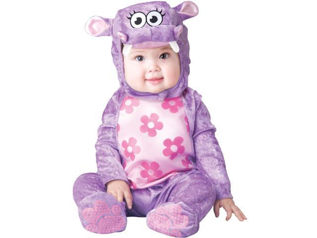 Huggable Hippo Costume Child Infant: Purple 6-12 Months