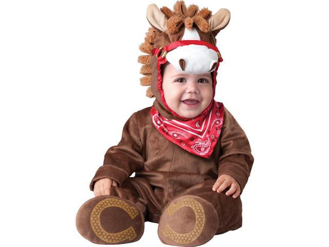 Playful Pony Costume Child Infant: Brown 0-6 Months
