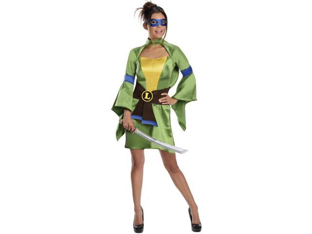 T.M.N.T. Sexy Leonardo Kimono Costume Adult Small