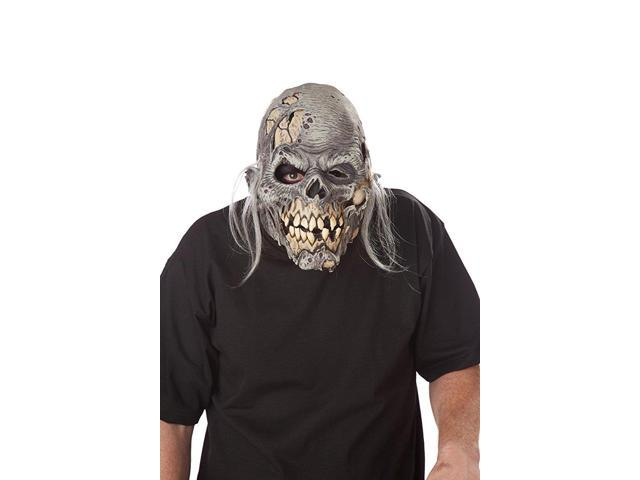 Muckmouth Ripper Zombie Moveable Costume Mask Adult One Size