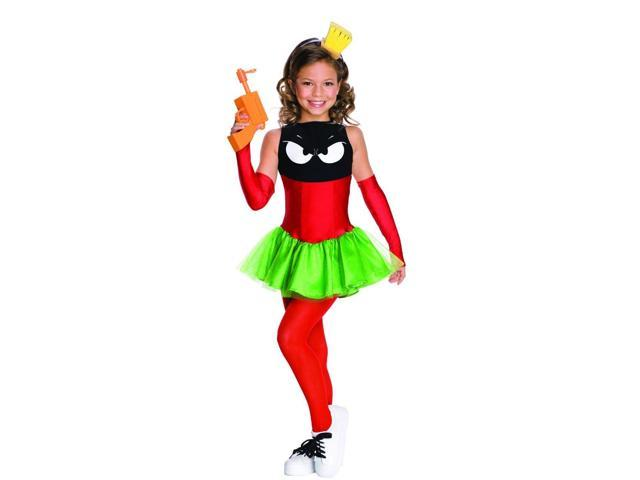 Marvin the Martian Costume Dress Child Small 4-6