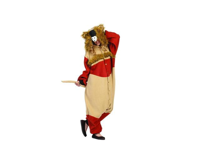 Funsies Kigurumi Harley Hamster Fleece Jumpsuit Costume Adult One Size Fits Most