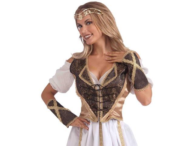Medieval Madam Adult Costume Vest & Cuff Set One Size