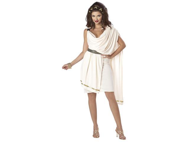 Sexy Deluxe Classic Greek Goddess Toga Costume Adult Small 6-8